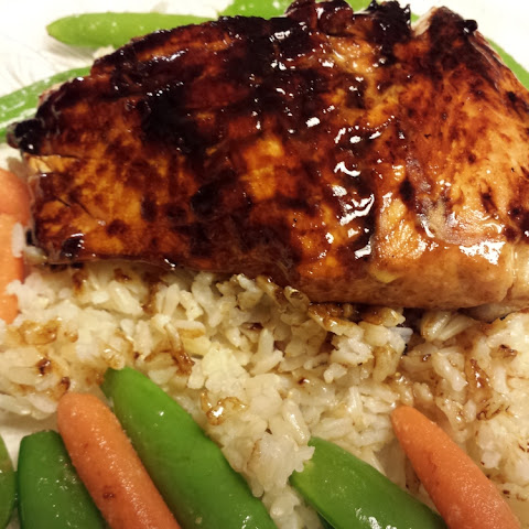 Glazed Salmon