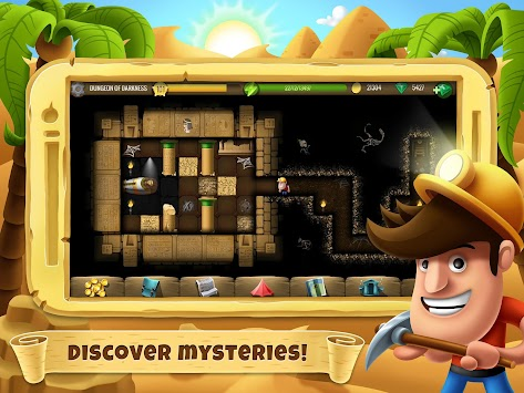 Diggy's Adventure APK screenshot thumbnail 7