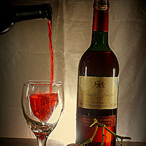 the wine by Tommy Firdaus - Artistic Objects Other Objects