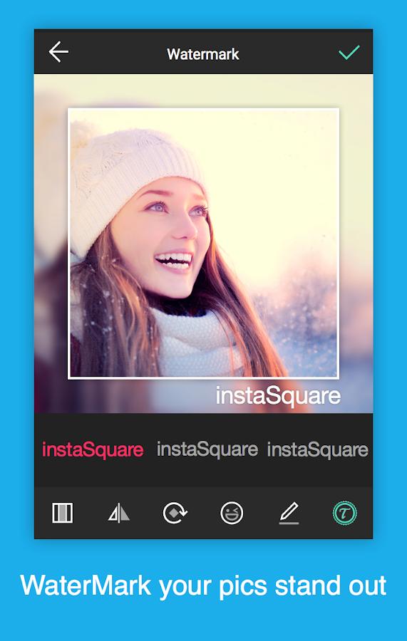 Insta quadratische Größe - keine Ernte android apps download
