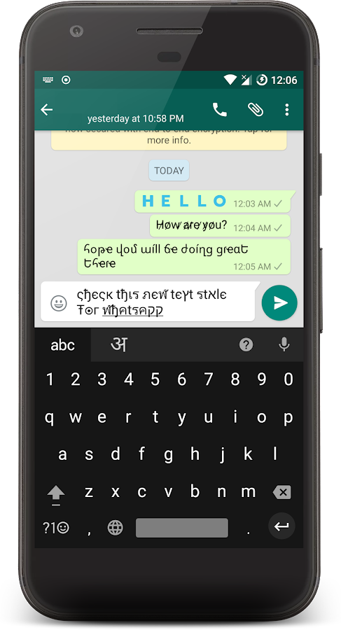Stylish Text Screenshot 4