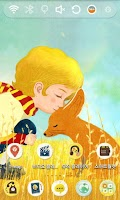 Screenshot of Little Prince and Fox Theme