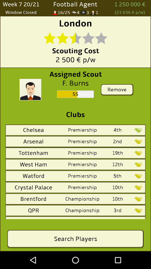 Football Agent Screenshot 4