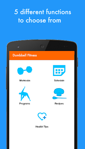 Dumbbell Fitness Pro: Exercise - screenshot