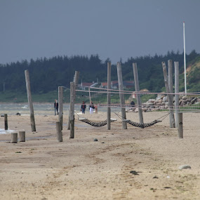 The Beach by Per Holt Oksen-Larsen - Novices Only Landscapes ( hjerting, by, esbjerg, beach, the )