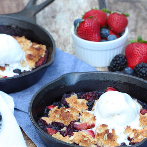 Berry Almond Crisp