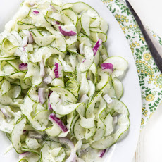 Cucumber Salad with Ranch