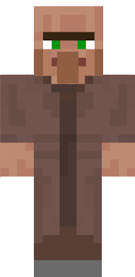 This is a villager from minecraft ENJOY!!!