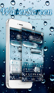 Water Screen Droplets Keyboard Theme   Android Apps On Google Play