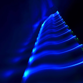 Light Fingerboard by Salden Toy Eltagonde - Abstract Light Painting