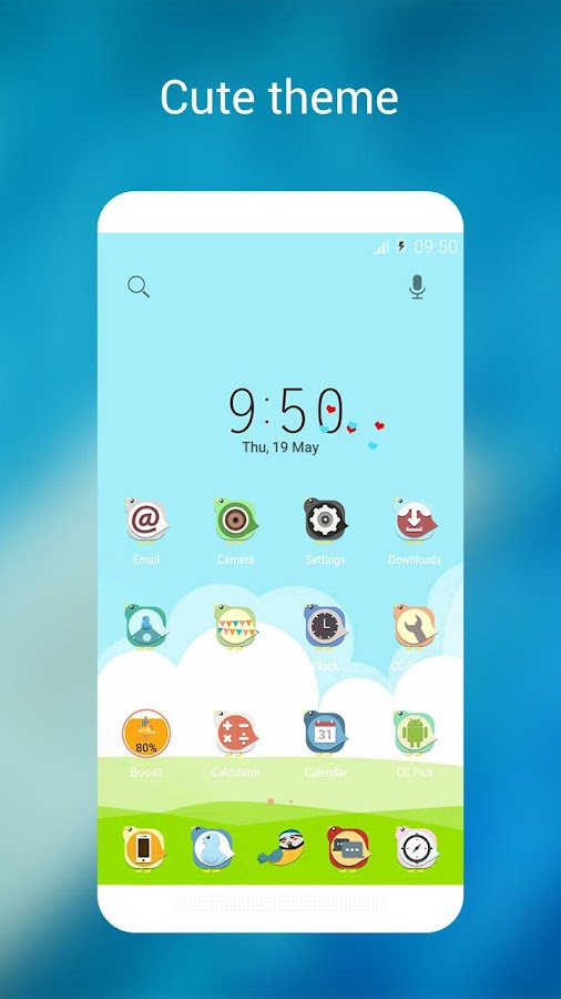 CC Launcher - Cool & Cute Screenshot 5