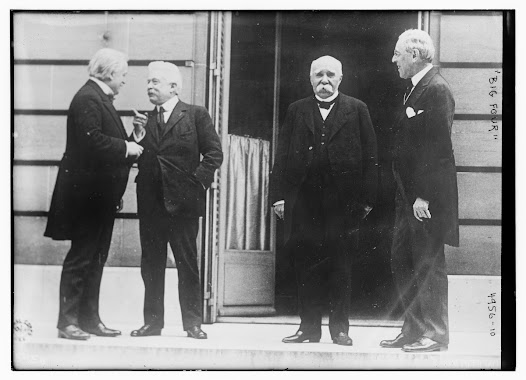 Woodrow Wilson traveled to Paris determined that the peace treaty would incorporate the ideals set forth in his Fourteen Points: