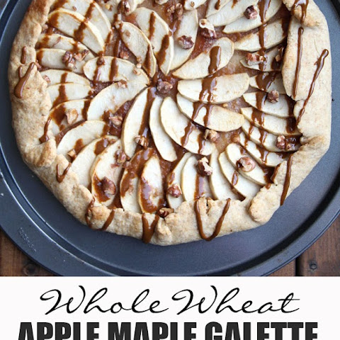 Rustic Apple Maple Galette