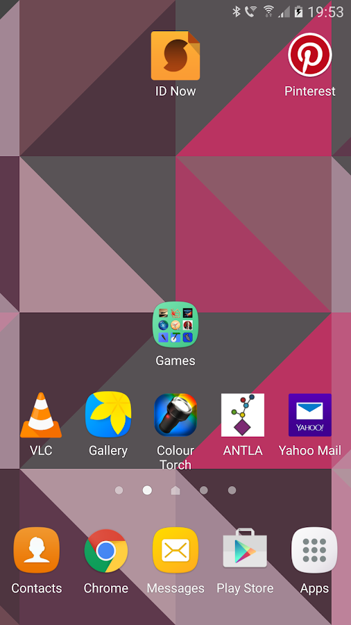 Triangles Live Wallpaper Screenshot 2