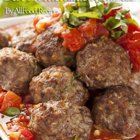 How to make the Best Homemade Meatballs