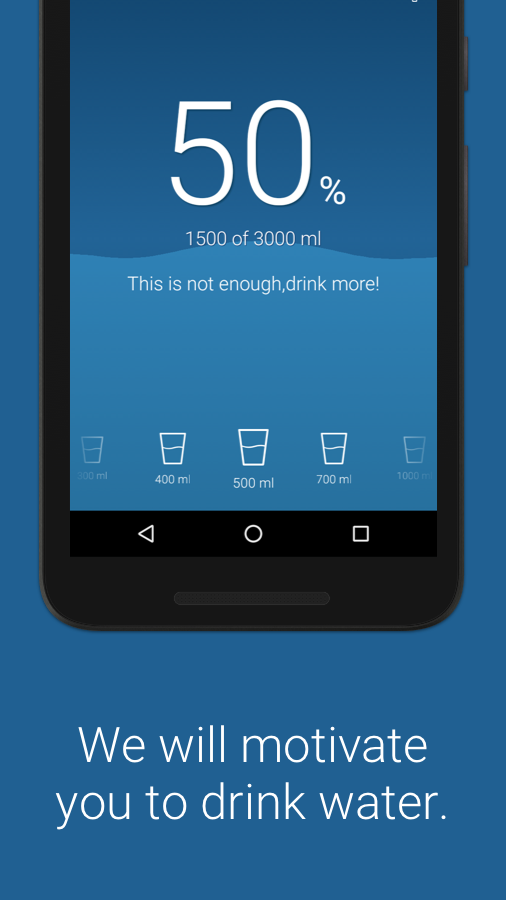 Water Balance drink healthily Screenshot 3