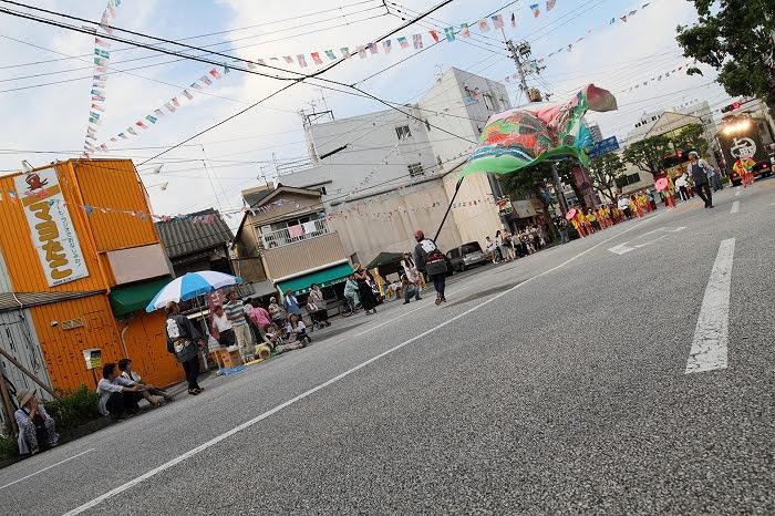 第61回よさこい祭り☆本祭2日目・梅ノ辻競演場89☆上1目1373