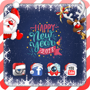 Happy New Year 2018 Theme For PC