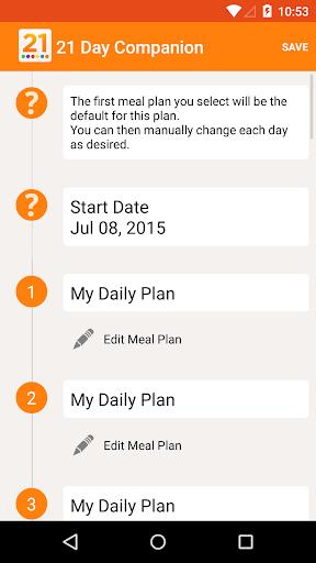 21 Day Companion - Life Fix - screenshot