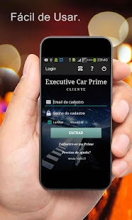 EXECUTIVE CAR PRIME Cliente - screenshot