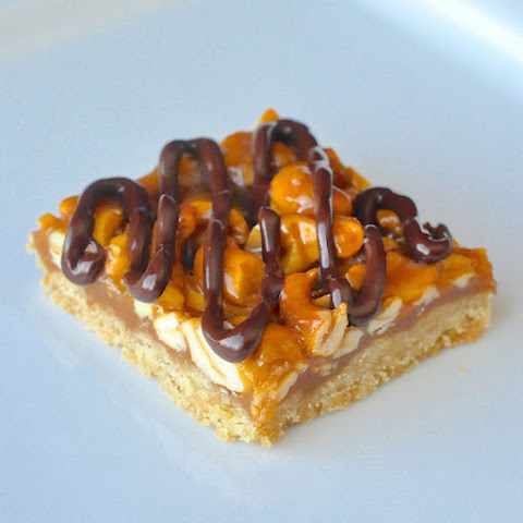 Honey Cashew Cookie Bars