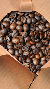 Coffee beans. Live wallpapers - screenshot