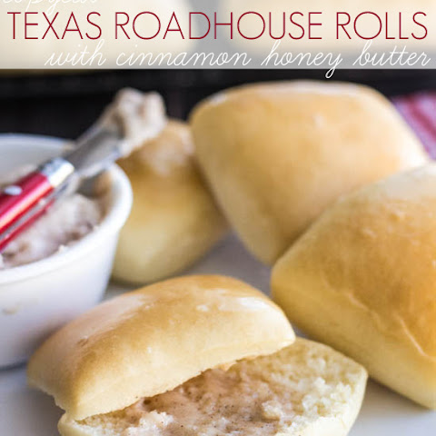 Copycat Texas Roadhouse Rolls with Cinnamon Honey Butter