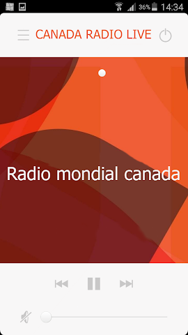 android CANADA RADIO LIVE Screenshot 0