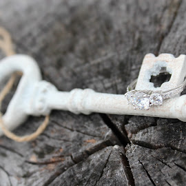 Key to my Heart by Renee Heiliger - Wedding Other ( ring, wedding, key, engagement )