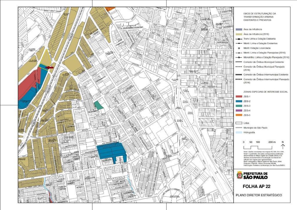 Saúde - Terreno de 2.200m²  com 30x73m na  Rua Eugênio Falk para Venda.