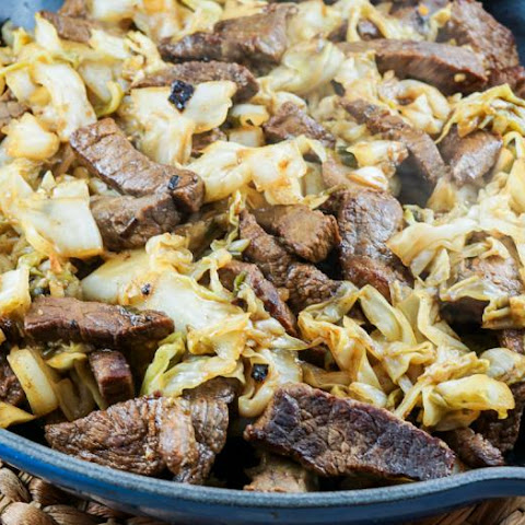 Korean Beef and Cabbage