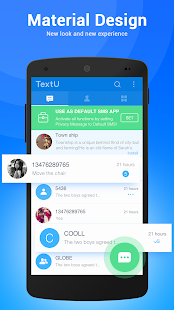 TextU Pro - Private SMS Messenger Screenshot