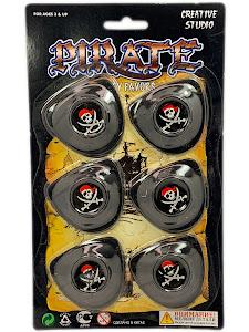 """Праздник, Праздник """"Игровой Набор Пират"""" Повязка 6 шт."""