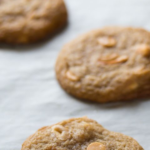 Butterscotch Brown Sugar Cashew Cookies
