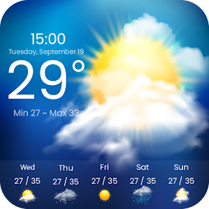 Weather Forecast New App on Andriod - Use on PC