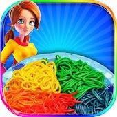 Free Download DIY Rainbow Pasta Maker Chef APK for Samsung