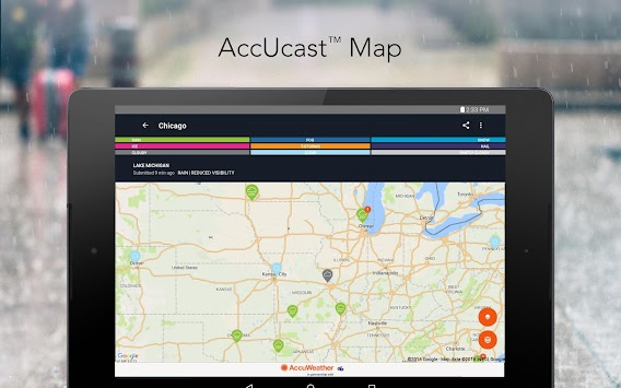 AccuWeather Platinum APK screenshot thumbnail 14