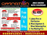 Carnations(Multi Brand car service centre) noida extension