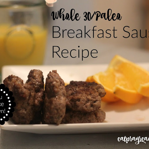 Best Paleo Breakfast Sausage
