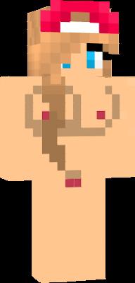 skin pute minecraft karis pute