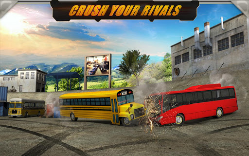 Demolition Derby: School Bus - screenshot