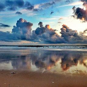 Carcavelos Beauty by Ana Paula Filipe - Landscapes Waterscapes ( clouds, sky, beach, carcavelos, waterscapes,  )