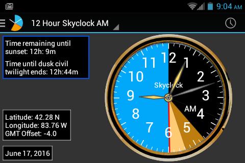 Skyclock Screenshot 5