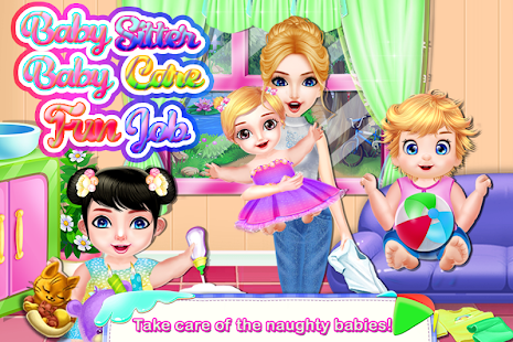 Babysitter Baby Care Fun Job * Babysitting for Kid for pc