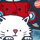 Commentary! Cat-type fighter-super Chelmsford Free shooting action -