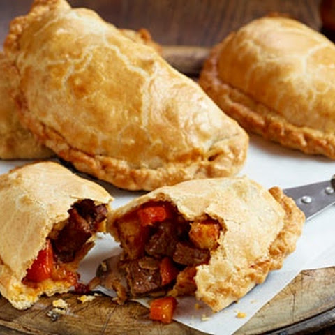 Spicy Cornish pasty