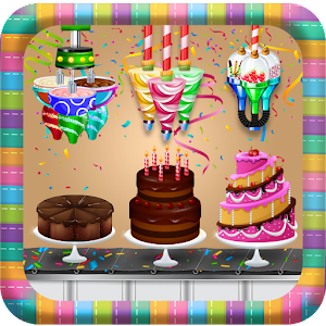 Download Birthday Chocolate Cake Factory: Dessert Food Game for PC