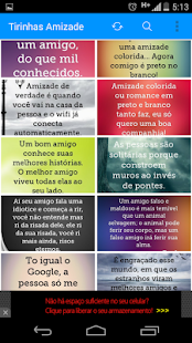 Frases  de Amizade - screenshot