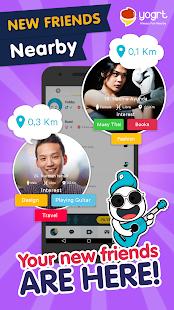App Yogrt: Meet Friends Nearby 2.7.3 APK for iPhone