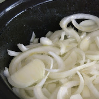 Slow Cooker Big Batch Caramelized Onions